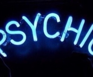 light, neon, and psychic image