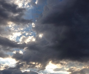cloud, photography, and sunrise image