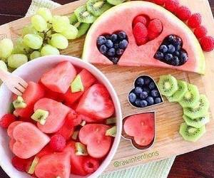 blueberry, watermelon, and fresh fruit image