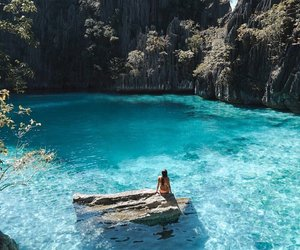 summer, travel, and water image