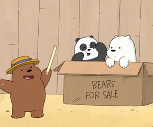 cartoon, cartoon network, and ice bear image