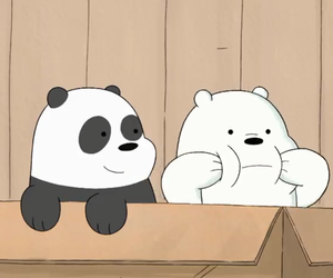 cartoon, ice bear, and panpan image
