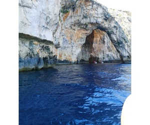 blue, grotto, and inlove image
