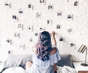 girl, hair, and photo image