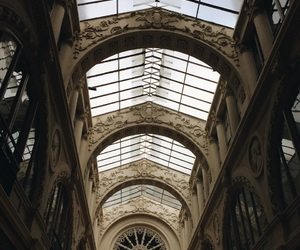 design, france, and glass roof image