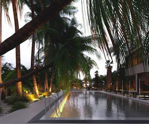 luxury, pool, and trees image