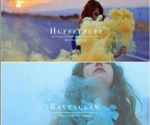 gryffindor, harry potter, and ravenclaw image