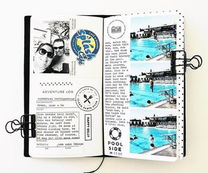 art, journaling, and scratchbook image