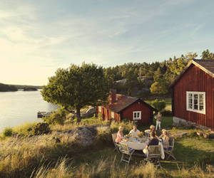 sweden, coast, and norway image