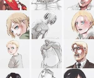 anime and attack on titan image