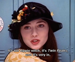90210, hippie, and Twin Peaks image