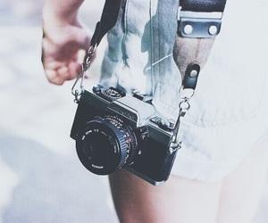 camera, photography, and girl image