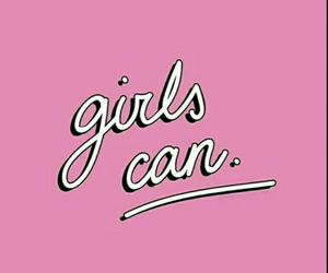 girl power, girls, and pink image