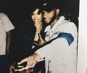 bryson tiller and sza image