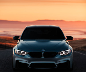 black white, bmw, and cars image