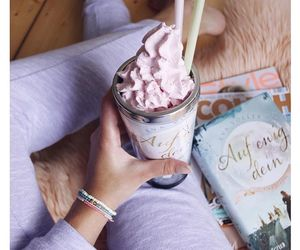 food, girly, and pink image