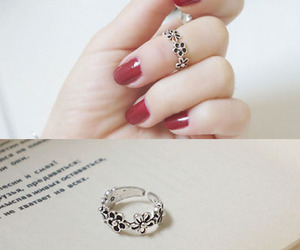 accessories, beautiful ring, and girly stuffzz image