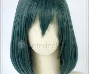 lenalee lee cosplay, halloween cosplay wig, and cheap anime cosplay wig image