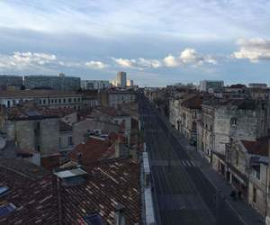 empty, road, and bordeaux image
