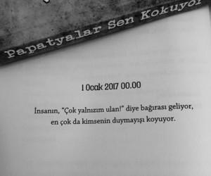 türkçe sözler, papatyalar sen kokuyor, and ridvan keskin image