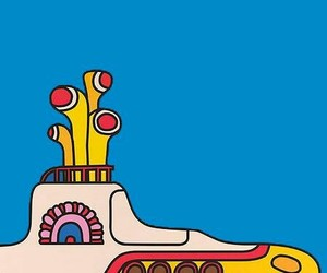 beatles, wallpapers, and yellow submarine image