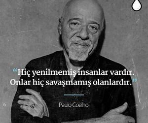 paulo coelho and türkçe sözler image