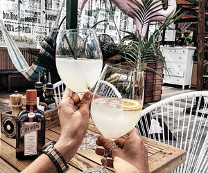 coctail, summer, and drink image