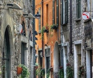 street, italy, and beautiful image