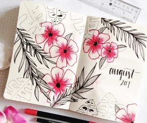 art, plan, and planner image