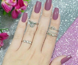 beautiful, pink, and hands image