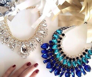 accesories, beautiful, and blue image
