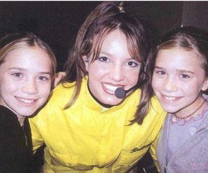 britney spears, ashley olsen, and olsen twins image
