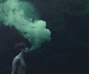 aesthetic, tumblr, and green image