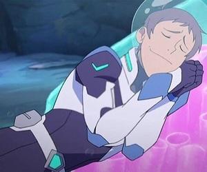 anime, klance, and blue image
