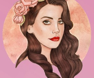 lana del rey, art, and lana image