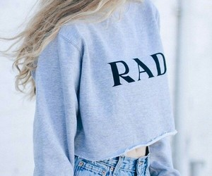 rad, clothes, and outfit image