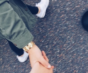 holding hands and tumblr image