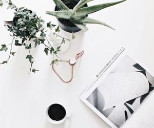 white, coffee, and minimal image