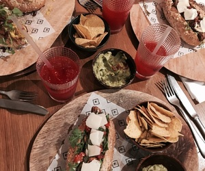 drinks, food, and hipster image