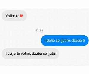 balkan, volim te, and citati image