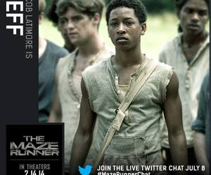 Jeff, the maze runner, and jacob latimore image