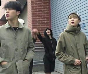 bts, jimin, and min yoongi image