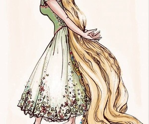 flowers and rapunzel image