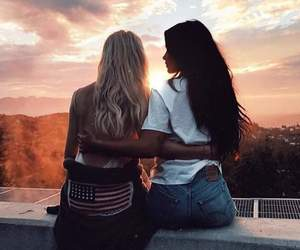 Best, best friends, and por do sol image