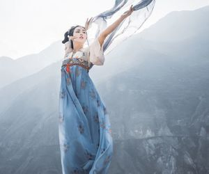 china, chinese girl, and history image