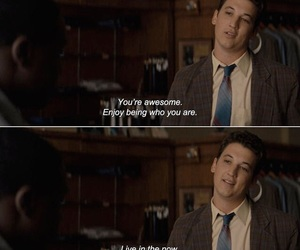 inspiration, movie, and miles teller image