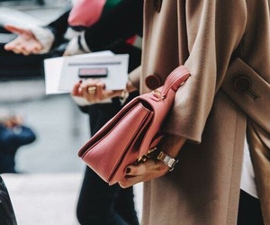 accessories, bag, and coat image