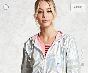 blonde, eyes, and jacket image