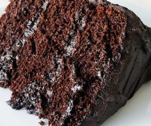 chocolate, chocolate cake, and cozy image