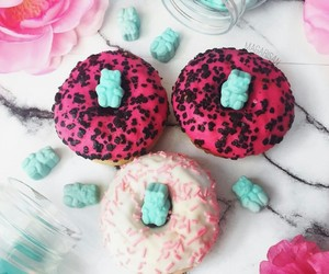 delicious, yummy, and donut image
